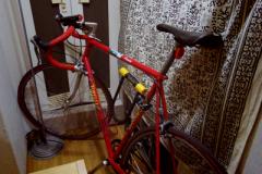 トム先生の自転車